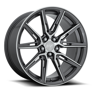 Niche Sport Series Gemello - M220 5 Gloss Anthracite & Machined
