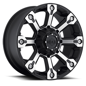 Gear Alloy 719 Backcountry 6 Machined Face with Carbon Black Accents