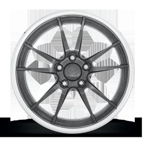 GRAND PRIX - U337 Gloss Grey 5 lug