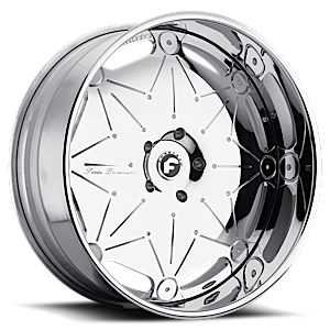Forgiato Serie Diamante GALASSIA 5 Chrome
