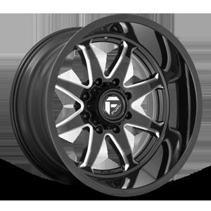 Fuel 1-Piece Wheels Hammer - D749 8 Gloss Black Milled