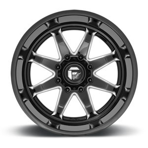 Hammer - D749 Gloss Black Milled 8 lug