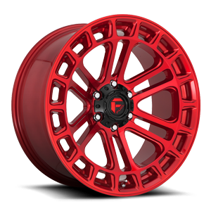 Heater - D719 Candy Red 6 lug
