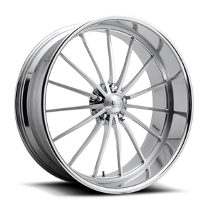 Heritage - Precision Series Brushed w/ Polished Lip 5 lug