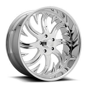Hook - Precision Series Polished 5 lug