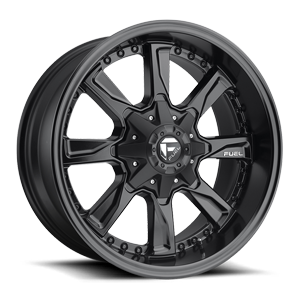 Fuel 1-Piece Wheels Hydro - D604 5 Matte Black