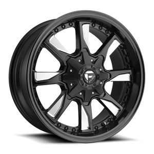 Fuel 1-Piece Wheels Hydro - D603 5 Matte Black & Milled