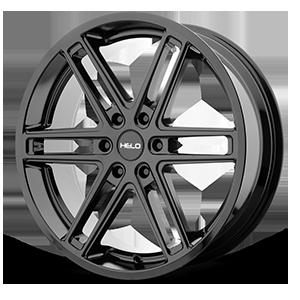Helo Wheels HE908 6 Gloss Black