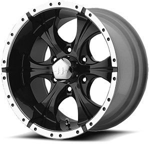 Helo Wheels HE791 MAXX 6 Gloss Black Machined