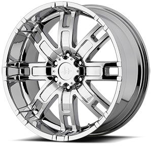 Helo Wheels HE835 6 Chrome