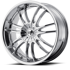 Helo Wheels HE845 5 Chrome