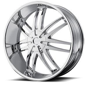 Helo Wheels HE868 6 Chrome