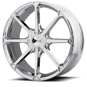 Helo Wheels HE870 5 Chrome