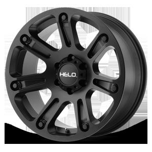 Helo Wheels HE904 6 Satin Black