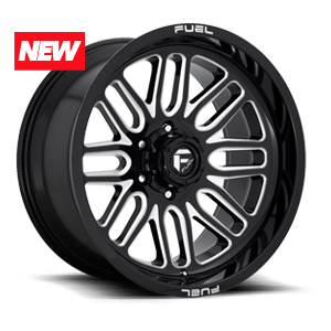 Fuel 1-Piece Wheels Ignite - D662 5 Gloss Black & Milled