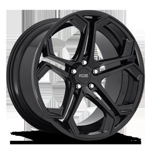 Impala - F169 Gloss Black 5 lug
