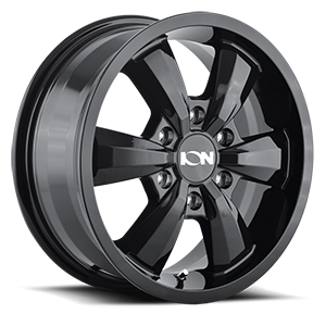 Ion Alloy Wheels 102 6 Black