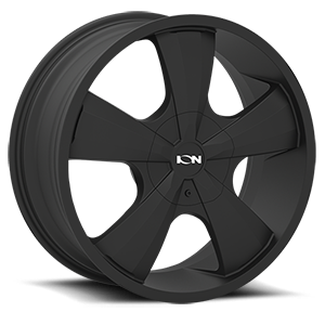 Ion Alloy Wheels 103 5 Satin Black