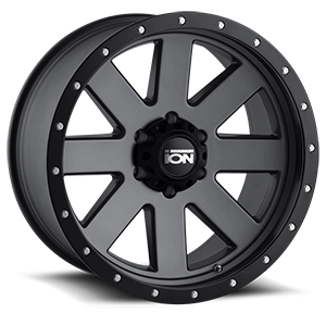 Ion Alloy Wheels 134 6 Matte Gunmetal