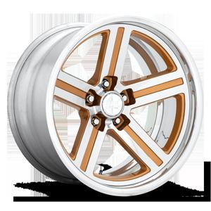 Iroc Deep Concave - U550 Gold w/ Polish 5 lug
