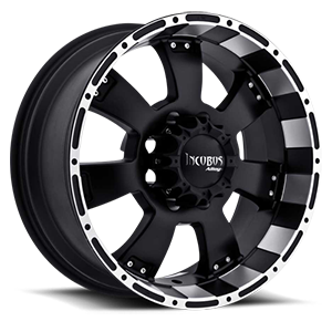 Incubus 815 Krawler 8 Flat Black with Machined Lip