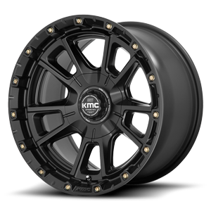 KM100 - Sync Satin Black 6 lug