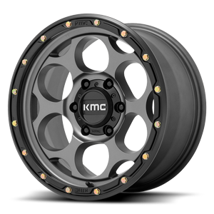 XD Series by KMC KM541 Dirty Harry 6 Satin Gray with Black Ring