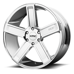 KMC Wheels KM702 Deuce 6 Chrome