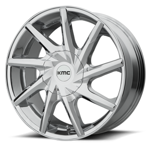 KMC Wheels KM705 Burst 6 Chrome