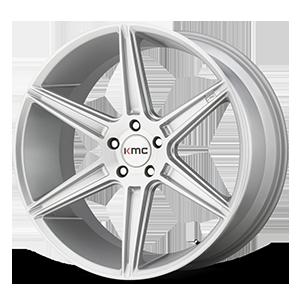 KMC Wheels KM711 Prism 5 Silver