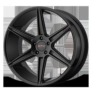 KMC Wheels KM711 Prism 5 Matte Black