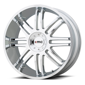 KMC Wheels KM714 Regulator 5 Chrome