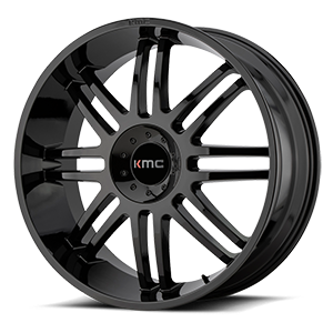 KMC Wheels KM714 Regulator 5 Gloss Black