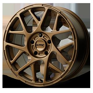KMC Wheels KM708 Bully 5 Matte Bronze