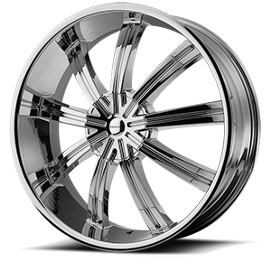 KMC Wheels KM672 Widow 6 Chrome