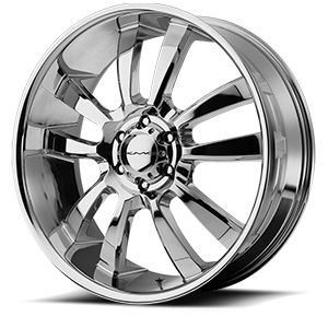 KMC Wheels KM673 Skitch 6 Chrome
