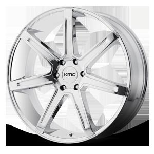 KMC Wheels KM700 Revert 6 Chrome