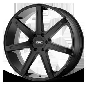 KMC Wheels KM700 Revert 6 Satin Black