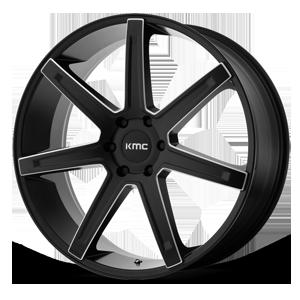 KMC Wheels KM700 Revert 6 Satin Black Milled