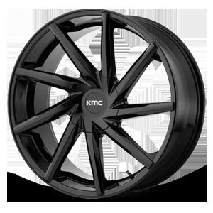 KMC Wheels KM705 Burst 6 Gloss Black
