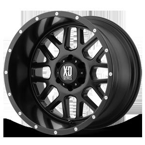 XD Series by KMC XD820 Grenade 6 Satin Black