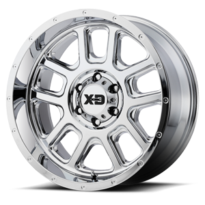 XD Series by KMC XD828 Delta 6 Chrome