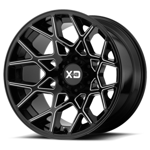 XD Series by KMC XD831 Chopstix 8 Gloss Black Milled