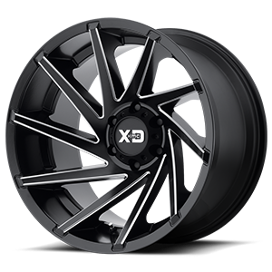 XD Series by KMC XD834 Cyclone 6 Satin Black Milled
