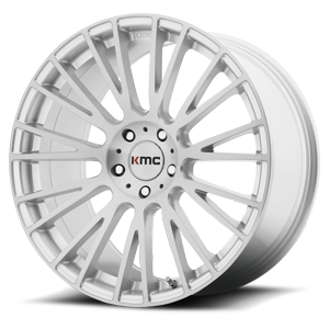 KMC Wheels KM706 Impact 5 Brushed Silver