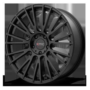 KMC Wheels KM706 Impact 5 Satin Black