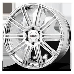 KMC Wheels KM707 Channel 6 Chrome