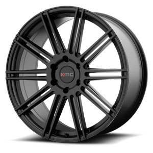KMC Wheels KM707 Channel 6 Satin Black