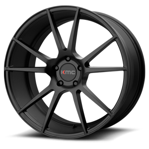 KMC Wheels KM709 Flux 5 Satin Black