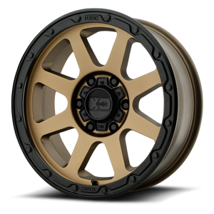 XD134 Addict 2 Matte Bronze with Black Lip 6 lug